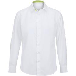 Textiel Heren Overhemden lange mouwen Alexandra Hospitality Wit/kalk
