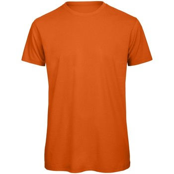 Textiel Heren T-shirts korte mouwen B And C TM042 Stedelijk Oranje