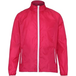Textiel Heren Windjack 2786  Heet Roze/Wit