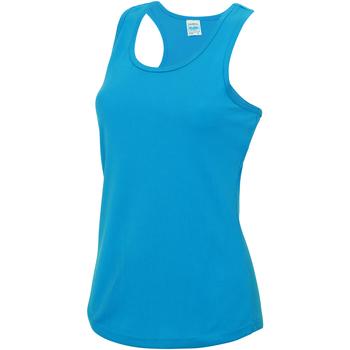 Textiel Dames Mouwloze tops Awdis JC015 Saffierblauw