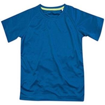 Textiel Kinderen T-shirts korte mouwen Stedman  Koningsblauw