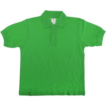 Textiel Kinderen Polo's korte mouwen B And C PK486 Echt groen