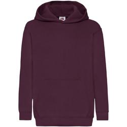 Textiel Kinderen Sweaters / Sweatshirts Fruit Of The Loom 62043 Bordeaux