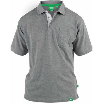 Textiel Heren Polo's korte mouwen Duke  Grijze Melange