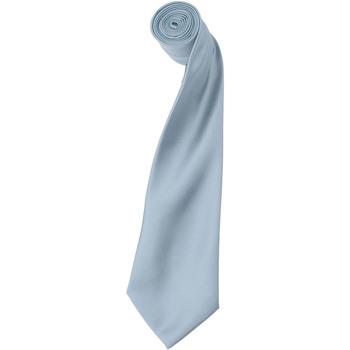 Textiel Heren Stropdassen en accessoires Premier Satin Lichtblauw