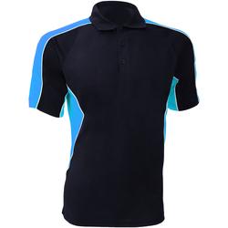 Textiel Heren Polo's korte mouwen Gamegear KK938 Marine / Lichtblauw