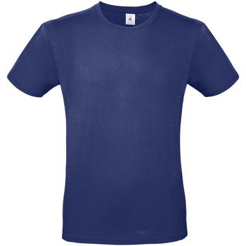 Textiel Heren T-shirts korte mouwen B And C TU01T Elektrisch Blauw
