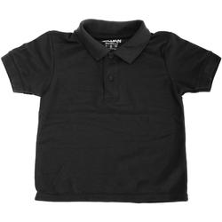 Textiel Kinderen Polo's korte mouwen Gildan 72800B Zwart