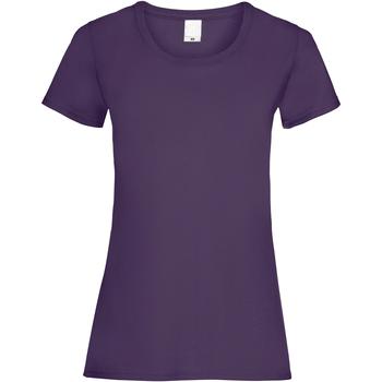 Textiel Dames T-shirts korte mouwen Universal Textiles 61372 Druif