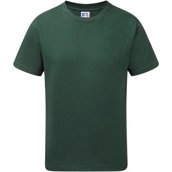 Textiel Jongens T-shirts korte mouwen Jerzees Schoolgear J155B Fles groen