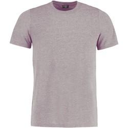 Textiel T-shirts korte mouwen Kustom Kit KK504 Lichtgrijs mergel