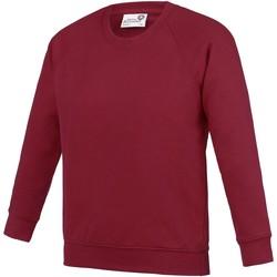Textiel Kinderen Sweaters / Sweatshirts Awdis AC01J Claret