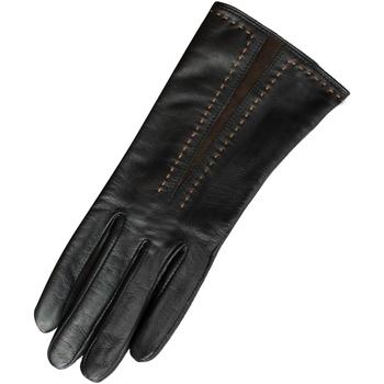 Accessoires Dames Handschoenen Eastern Counties Leather  Zwart/Bruin