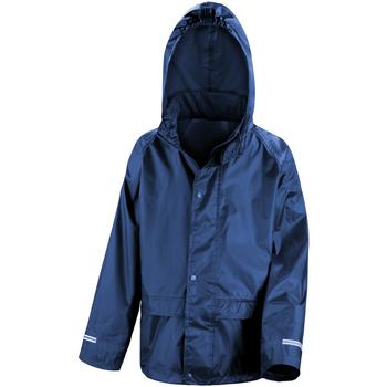 Textiel Kinderen Windjack Result R227J Marineblauw