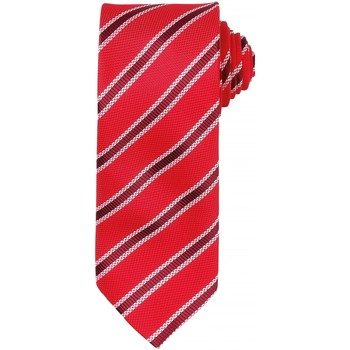 Textiel Heren Stropdassen en accessoires Premier PR783 Rood/ Bourgondië