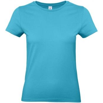 Textiel Dames T-shirts korte mouwen B And C E190 Zwembad