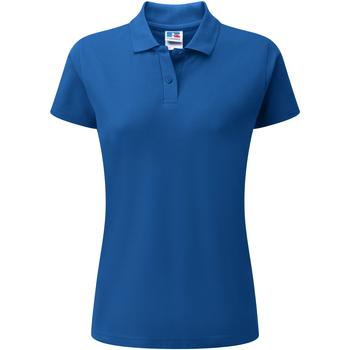 Textiel Dames Polo's korte mouwen Jerzees Colours 539F Helder Koninklijk