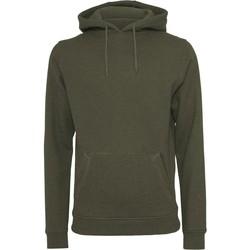 Textiel Heren Sweaters / Sweatshirts Build Your Brand BY011 Olijf