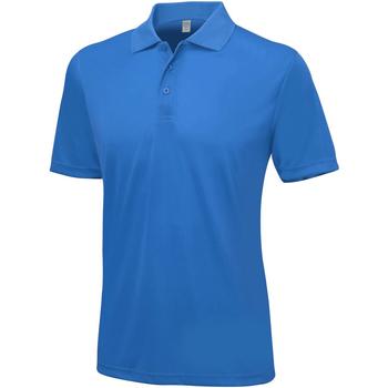Textiel Heren Polo's korte mouwen Awdis Smooth Koningsblauw