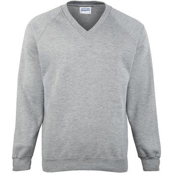 Textiel Heren Sweaters / Sweatshirts Maddins MD02M Oxford Grijs