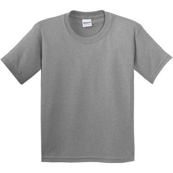 Textiel Kinderen T-shirts korte mouwen Gildan 5000B Sportgrijs