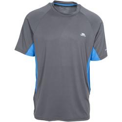 Textiel Heren T-shirts korte mouwen Trespass Brewly Grijs