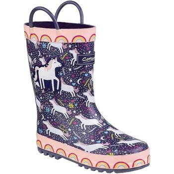 Schoenen Kinderen Regenlaarzen Cotswold Sprinkle Paarse Eenhoorn