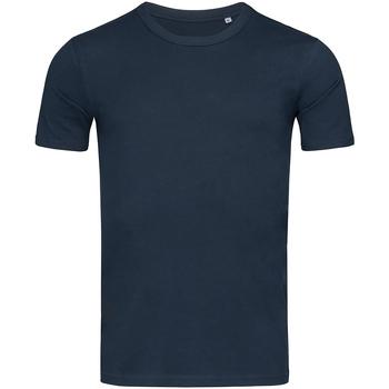 Textiel Heren T-shirts korte mouwen Stedman Stars Morgan Donkerblauw