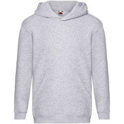 Textiel Kinderen Sweaters / Sweatshirts Fruit Of The Loom SS873 Heather Grijs