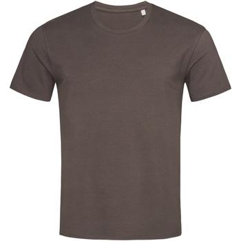 Textiel Heren T-shirts korte mouwen Stedman  Donkere chocolade bruin