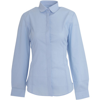 Textiel Dames Overhemden Brook Taverner Trevi Hemelsblauw