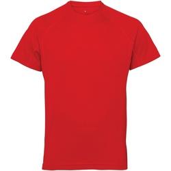 Textiel Heren T-shirts korte mouwen Tridri TR011 Vuurrood
