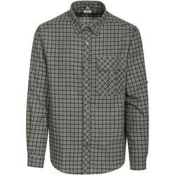 Textiel Heren Overhemden lange mouwen Trespass  Groencheque