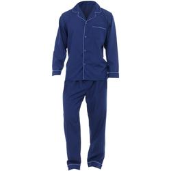 Textiel Heren Pyjama's / nachthemden Universal Textiles  Marine