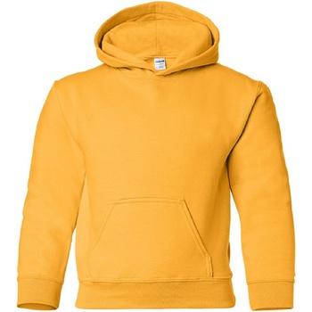 Textiel Kinderen Sweaters / Sweatshirts Gildan 18500B Goud