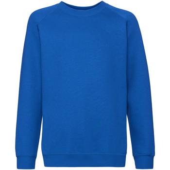 Textiel Kinderen Sweaters / Sweatshirts Fruit Of The Loom 62033 Royaal Blauw