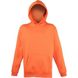 Textiel Kinderen Sweaters / Sweatshirts Awdis JH04J Elektrisch Oranje