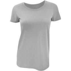 Textiel Dames T-shirts korte mouwen Bella + Canvas BE8413 Grijs Triblend