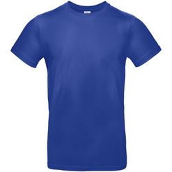 Textiel Heren T-shirts korte mouwen B And C TU03T Kobaltblauw