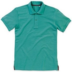 Textiel Heren Polo's korte mouwen Stedman Stars Henry Bahamagroen