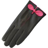 Accessoires Dames Handschoenen Eastern Counties Leather  Zwart / Fuchsia