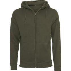 Textiel Heren Sweaters / Sweatshirts Build Your Brand BY012 Olijf