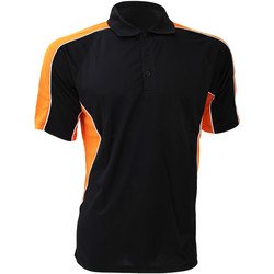 Textiel Heren Polo's korte mouwen Gamegear KK938 Zwart/Oranje