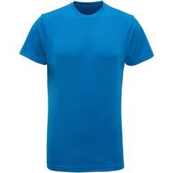 Textiel Heren T-shirts korte mouwen Tridri TR010 Saffier