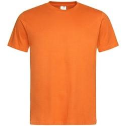 Textiel Heren T-shirts korte mouwen Stedman  Oranje