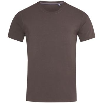 Textiel Heren T-shirts korte mouwen Stedman Stars  Donkere chocolade bruin