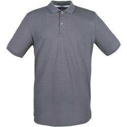 Textiel Heren Polo's korte mouwen Henbury HB101 Staalgrijs