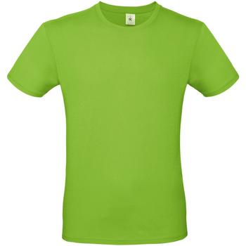 Textiel Heren T-shirts korte mouwen B And C TU01T Pistachio