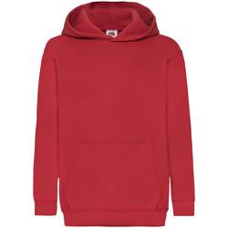 Textiel Kinderen Sweaters / Sweatshirts Fruit Of The Loom 62043 Rood