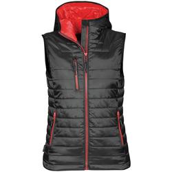Textiel Dames Vesten / Cardigans Stormtech PFV-2W Zwart / Echt rood
